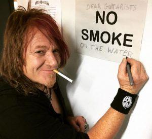 no smoke of the water - Kai Hansen